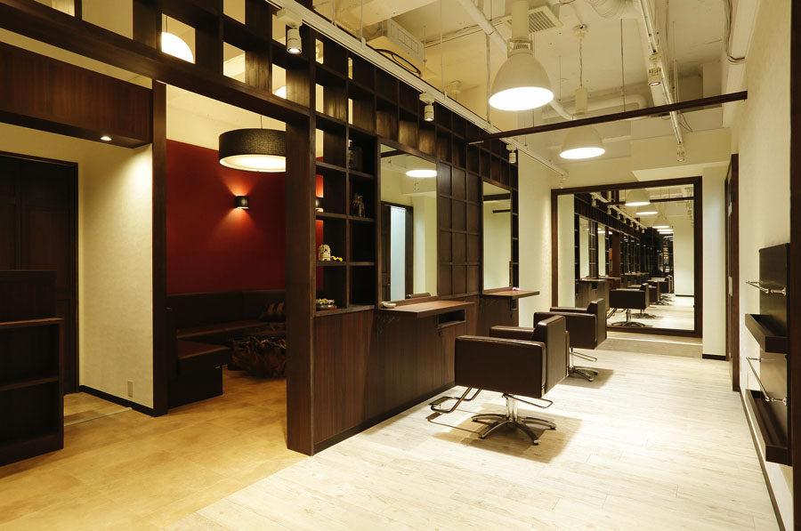 美容室内装画像 リゾート アジアン ナチュラル