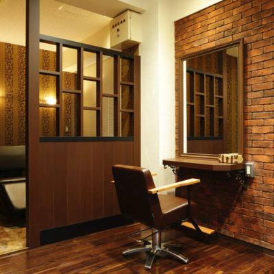 美容室 ネイルサロン  内装画像
