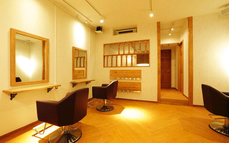 美容室内装画像 北欧 ナチュラル シンプル