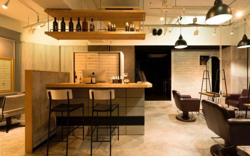美容室内装画像 アメリカン ブルックリン モダン