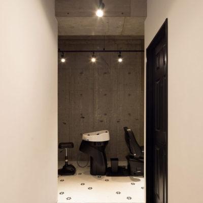 美容室  内装画像